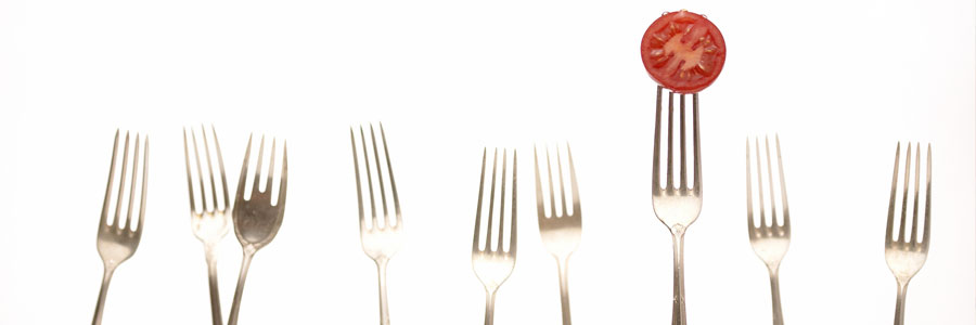 Forks with Tomato